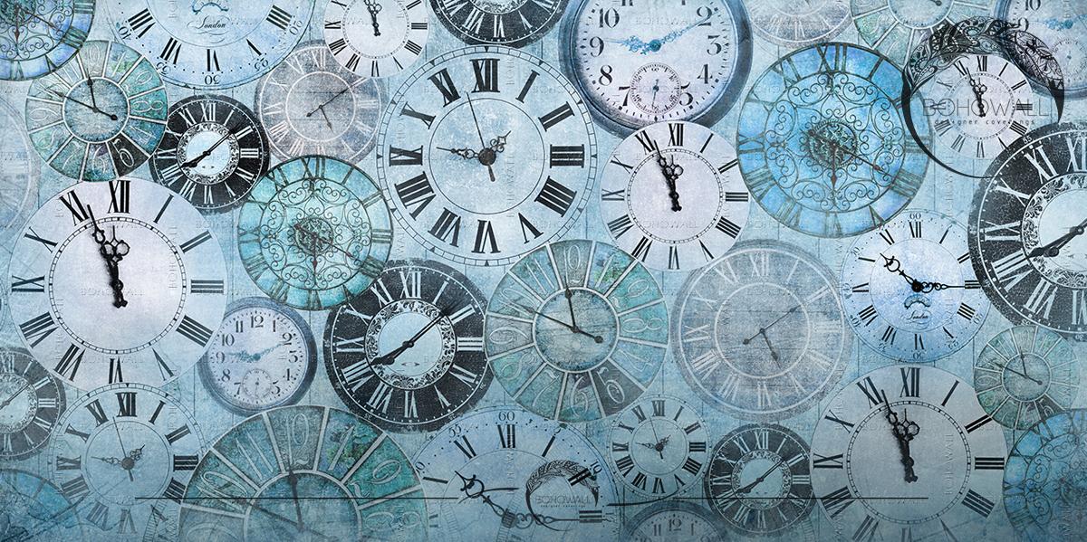 Magic Time_Blue_Bohowall