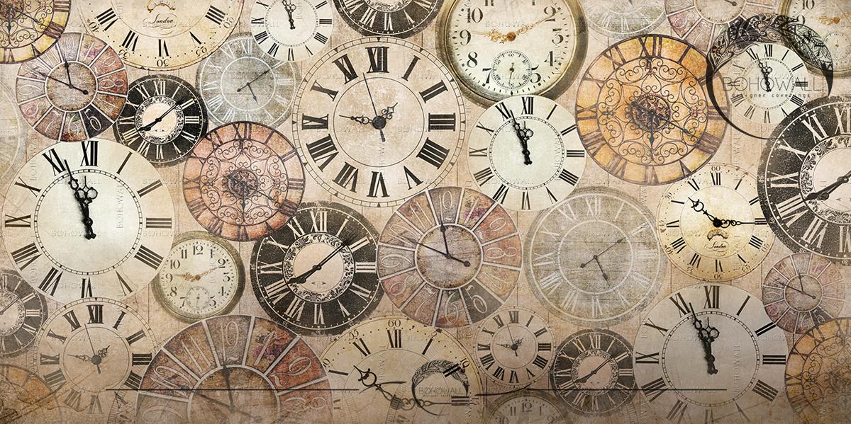 Фреска Magic Time_Bohowall