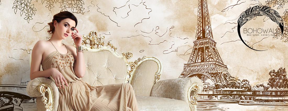 romantiс Paris Bohowall