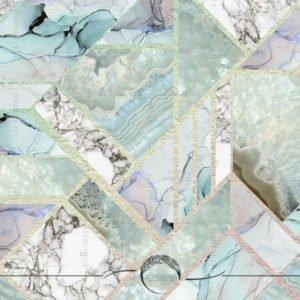 freska_Marble Mint_Bohowall.ru