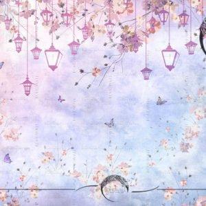 oboi_lantern _bohowall _lilac