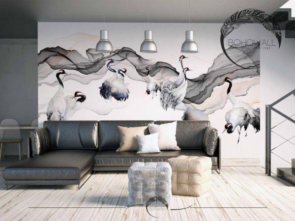 freska_Izar_Bohowall_interier