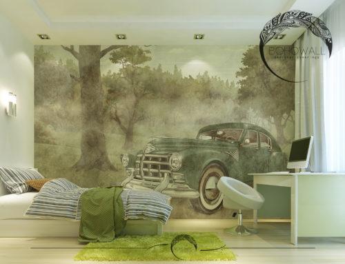 Фреска Fulu для детской комнаты