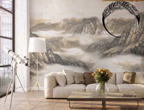Фреска на стену Gami (пейзаж)