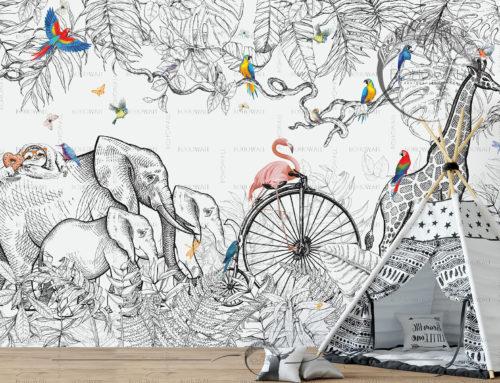 Детская фреска Sunland