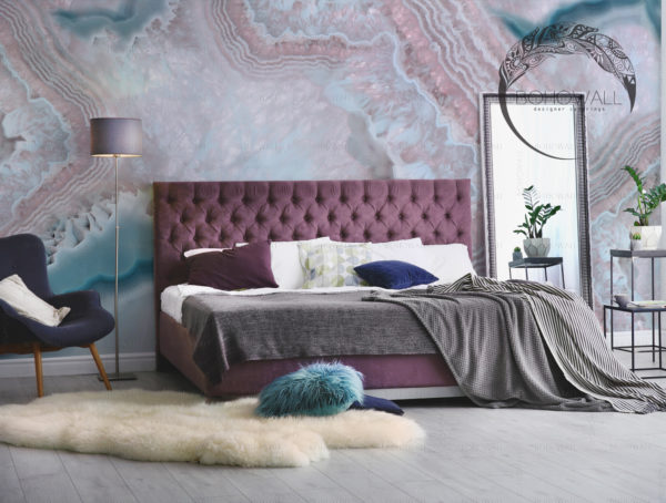 interier_freska_Onice Blue_Bohowall_s