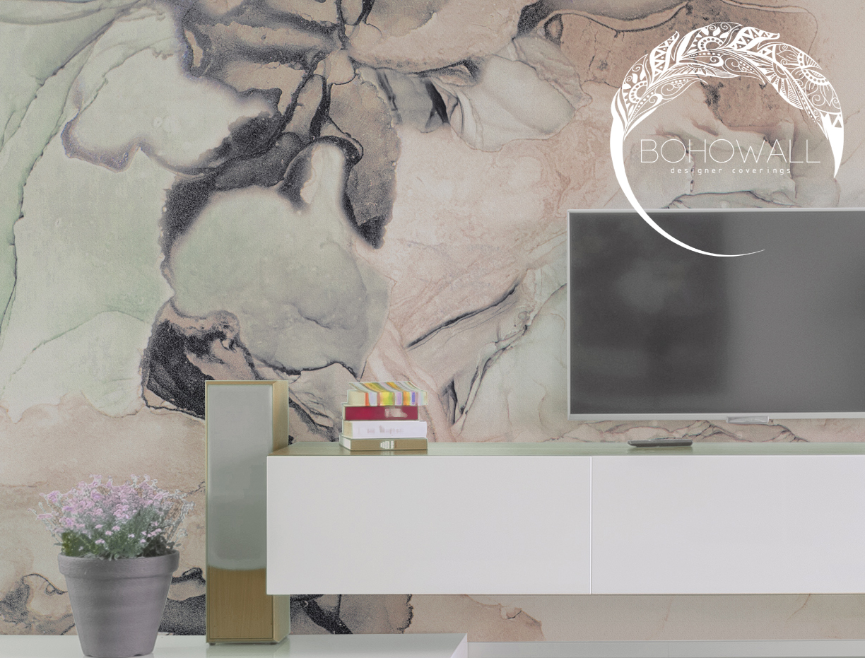 interier_freska_fancy marble_Bohowall_fr
