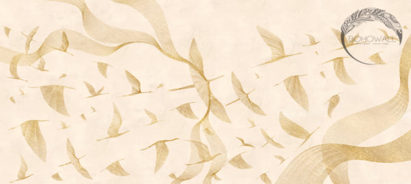 wallpaper_at sunrise_gold_nude_Bohowall