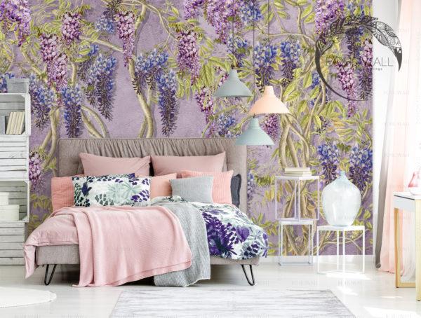 Oboi_Prolific_violet_v_interiere