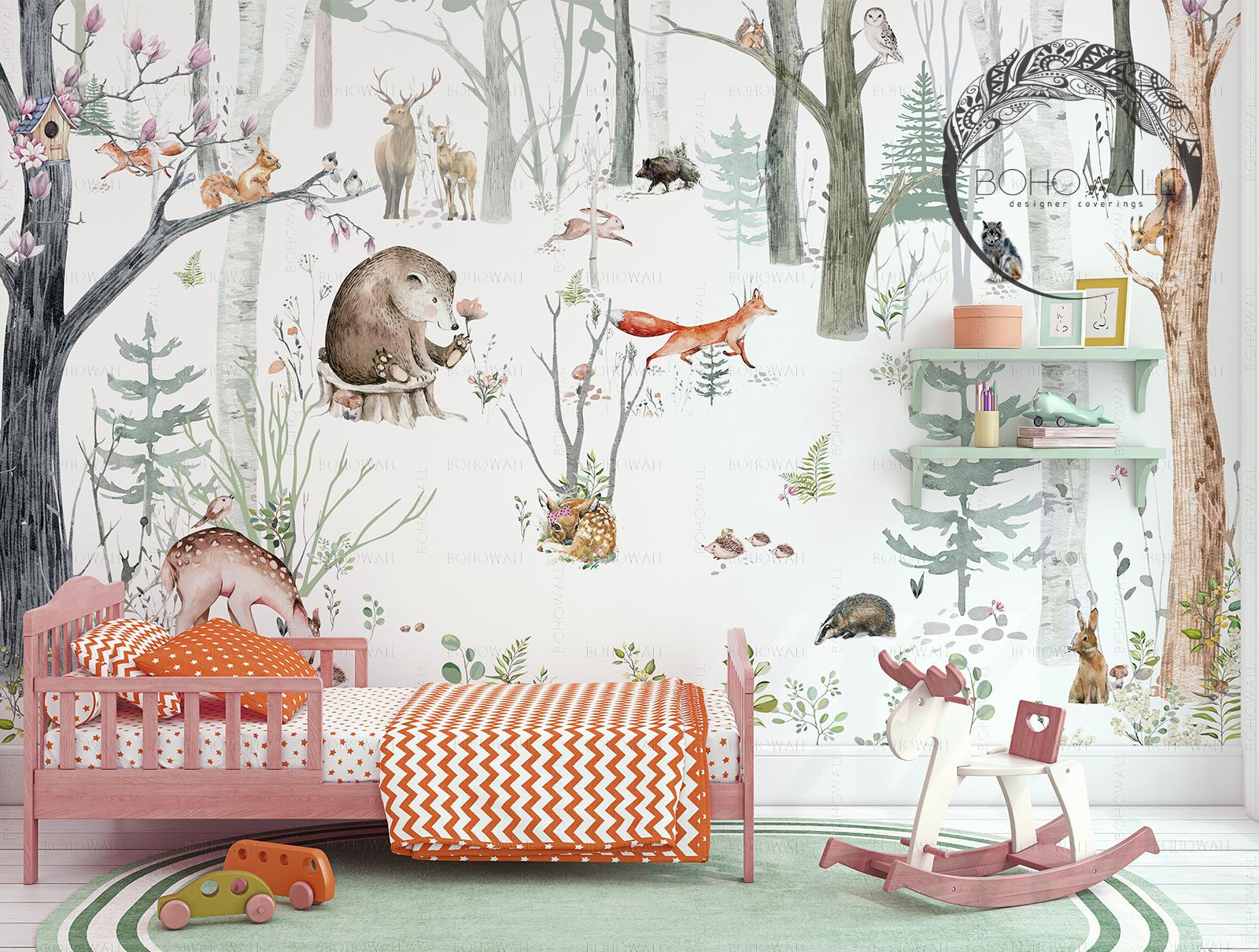 freska_fox_in_the forest_Bohowall_int